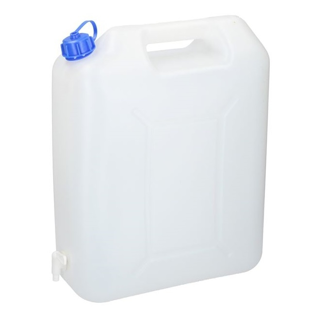 PLASTIC WATER CAN 20 LITRE WITH TAP | Moonraker