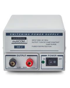 SHARMAN SM-3 (3-5 AMP) SWITCH MODE POWER SUPPLY