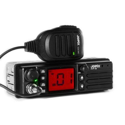 JOPIX AP-6 CB AM/FM Transceiver 12/24v Din