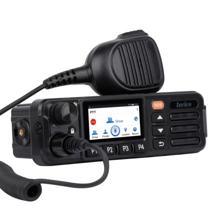 Inrico TM-7 Plus (MK2) 4G/WiFi Network Mobile radio 4G