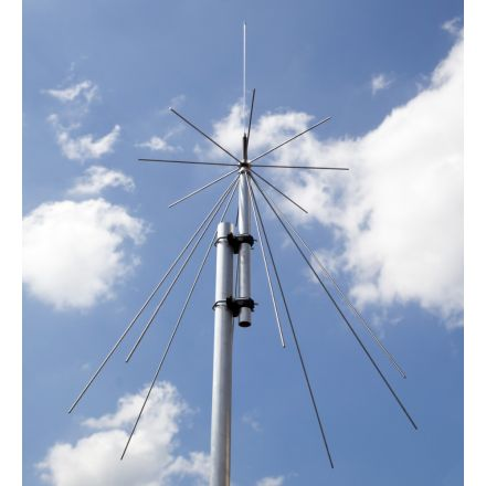 Scanking Royal Discone 2000 25 To 2000 MHz Antenna Plus with 10m Cable