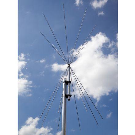 Scanking Royal Double Discone 5 To 2000 MHz Antenna