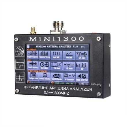 Mini-1300 0.1-1300MHz Handheld antenna Analyser