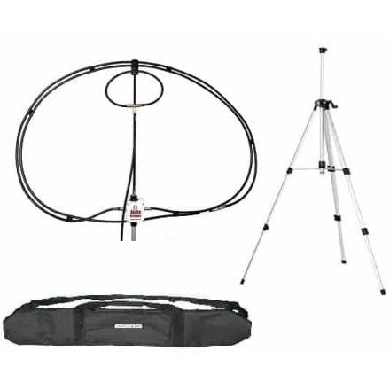Alpha Antenna 10-80M Alpha Loop + Tripod & Bag - 100W