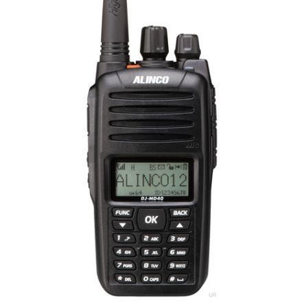 DISCONTINUED Alinco DJ-MD40 UHF Digital/Analogue FM Handheld Transceiver
