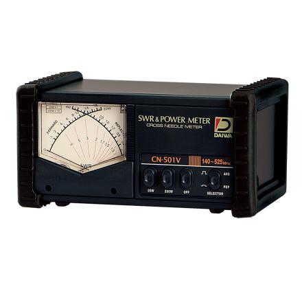 Daiwa CN-501VM - 140-525MHz Cross Needle SWR/Power Meter (SO239)