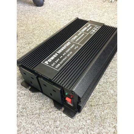 INV-8102U - 1500W JEO 24V Soft Start DC to AC Power Inverter