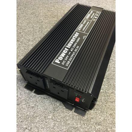 INV-8102U - 2500W JEO 24V Soft Start DC to AC Power Inverter