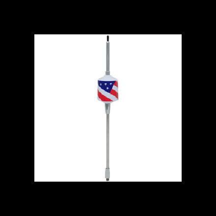 """WILSON 2000 10""""+ 5"""" SHAFT TRUCKER (FLAG DESIGN) CB ANTENNA"""