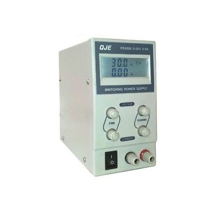 QJE PS3003 (0-3 AMP/0-30V)  SWITCH MODE POWER SUPPLY