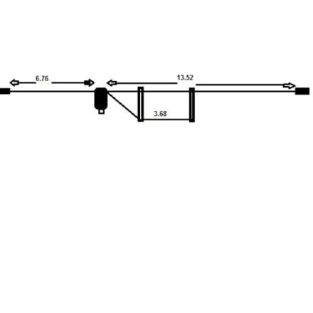 M0CVO HW-42HP MULTIBAND HF ANTENNA 40-6M