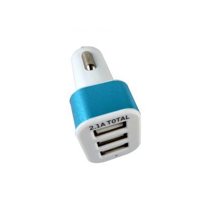 HTC TRIPLE USB PLUG 12/24V 2.1A MAX