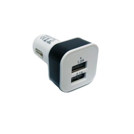 HTC TWIN USB PLUG 12/24V 2.1A MAX