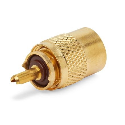 PL259 Standard Gold Plated Plug (9mm) (For RG213)