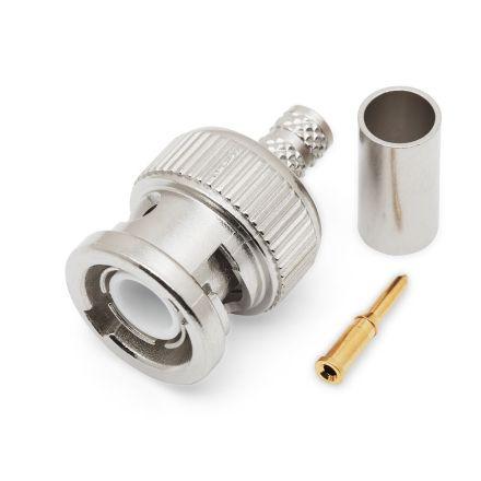 BNC Crimp Type Plug (6mm) (For RG58) (PREMIUM)