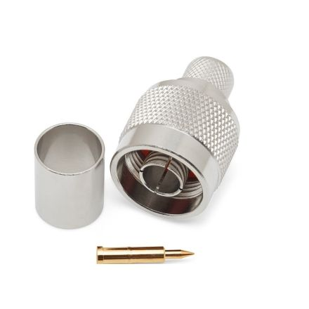 N-Type Crimp Type Plug (9mm) (For RG213) (PREMIUM)