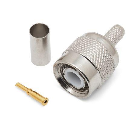 TNC Crimp Type Plug (6mm) (For RG58) (PREMIUM)