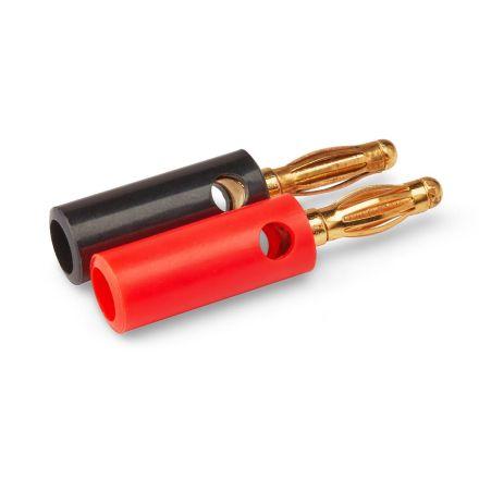 Banana Plug (Screw Type) (Red and Black) (Pair)