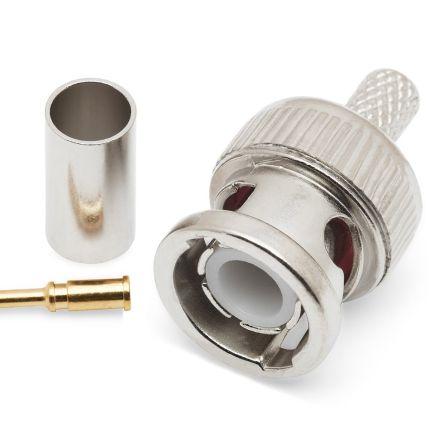BNC Crimp Type Plug (6mm) (For RG58)
