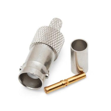 BNC(F) Crimp Type Plug (6mm) (For RG58)