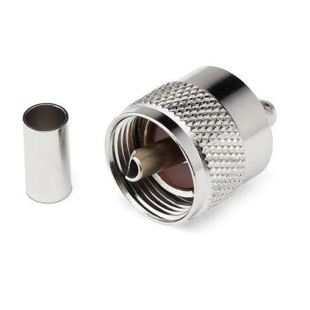 PL259 Crimp Type Premium Plug (6mm) (For RG58)