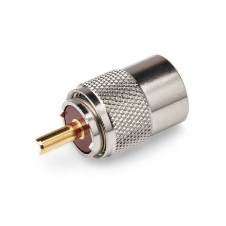 PL259 Plug (9mm) (For RG213) (Gold Plated Pin)