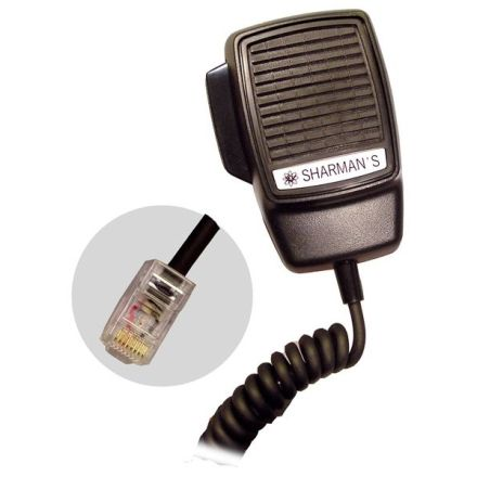 SHARMAN'S DM523-P8IC DYNAMIC MIC-8PIN ICOM F1010 SERIES