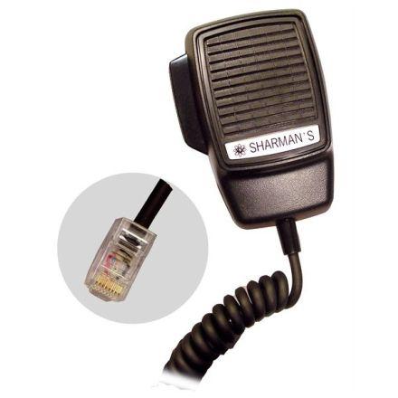 SHARMAN'S DM523-P8M DYNAMIC MIC-8PIN MOTOROLA GM300 SERIES