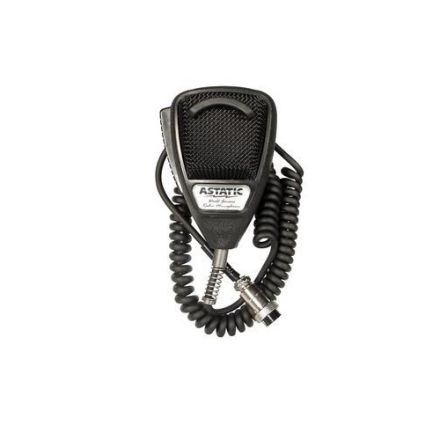 ASTATIC 636L RUBBERISED NOISE CANCELLING CB MICROPHONE