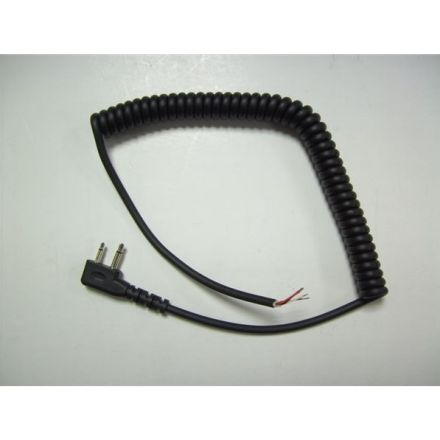 SPARE CURLY LEAD W/PLUG 2.5/3.5mm -STD RIGHT ANGLE MID