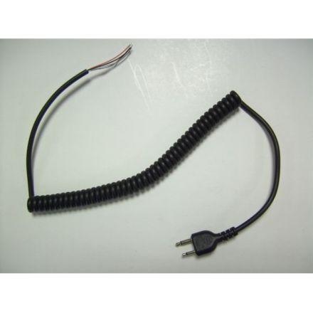 SPARE CURLY LEAD W/PLUG 2.5/3.5mm (STD)