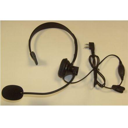 JH-902-S1 HEADSET BOOM MICROPHONE W/ SINGLE SIDE EAR MUFF