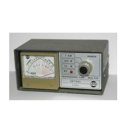 ZETAGI 430 SWR/POWER METER 120-500MHZ