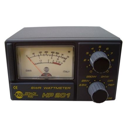 ZETAGI HP201 SWR/PWR METER 2KW ,3-200MHZ