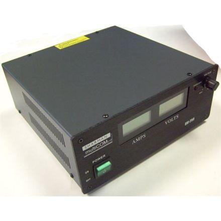 B GRADE SHARMAN SM25-D SWITCH MODE POWER SUPPLY 25A, LCD V/A METER