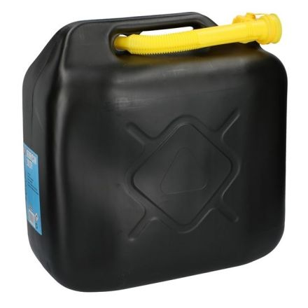ALL RIDE JERRY CAN + POURING SPOUT 20LITRE (BLACK)