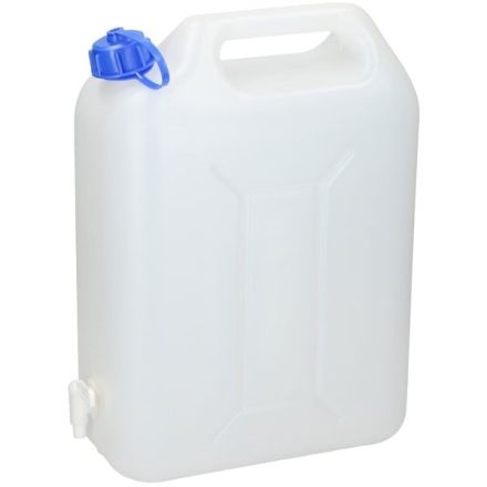 PLASTIC WATER CAN 10 LITRE WITH TAP