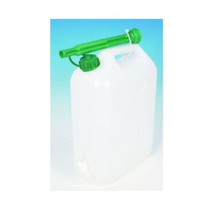 DISCONTINUED PLASTIC WATER CAN 10LITRE WITH SPOUT