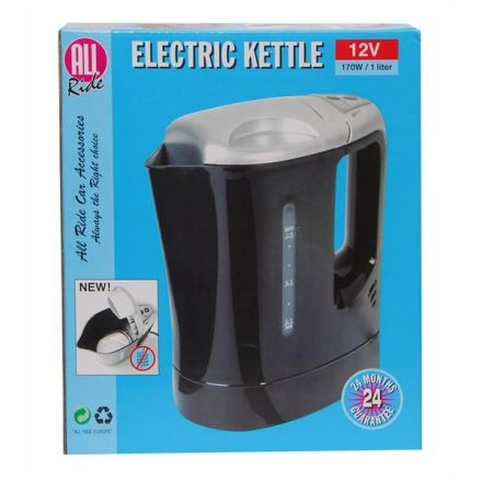 ALL RIDE 12V 170W / 1LTR ELECTRIC KETTLE