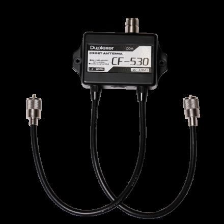 COMET CF-530 - 600W Duplexer 1.3-90/125-470MHz