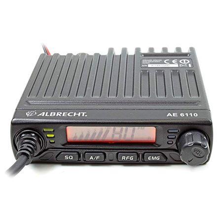 Albrecht AE-6110 Mini Mobile AM/FM CB Radio
