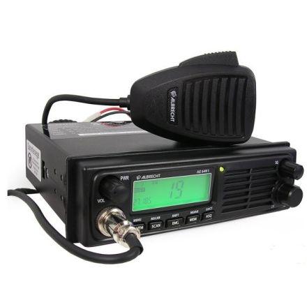 Albrecht AE-6491 12/24 volt Din sized CB radio