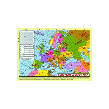 LOCD-Map A3 Size European Locator Map