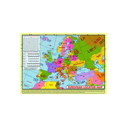 LOCS-Map A4 Size European Locator Map