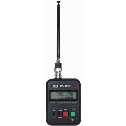 MFJ-886B* - Pocket Frequency Cnt 300Hz-2.8 GHz