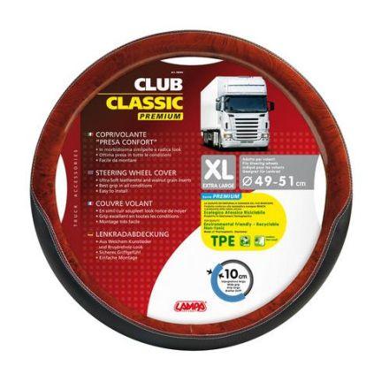 Lampa Club Classic Steering Wheel Cover 49-51cm (Walnut)