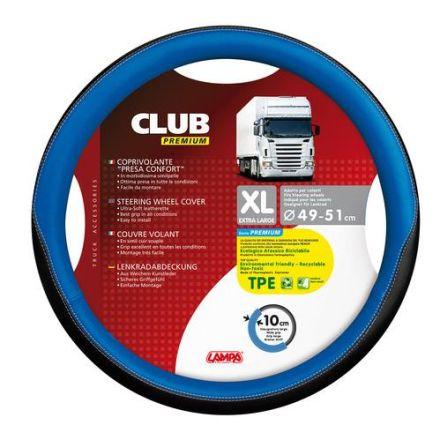 Lampa Club Premium Steering Wheel Cover 49-51cm (Blue)