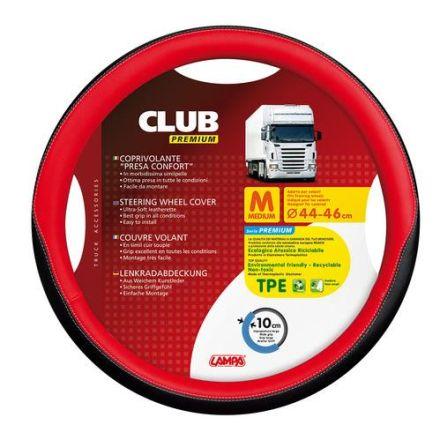 Lampa Club Premium Steering Wheel Cover 44-46cm (Red)