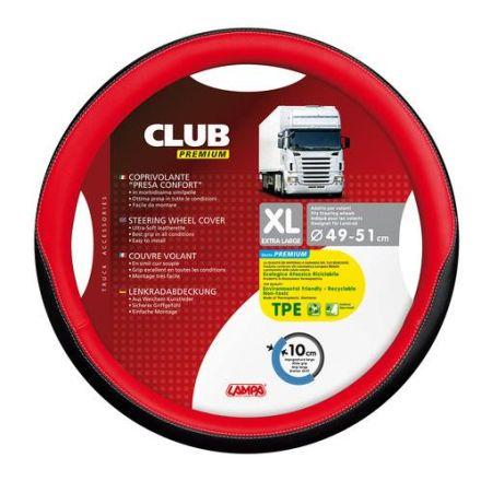 Lampa Club Premium Steering Wheel Cover 49-51cm (Red)