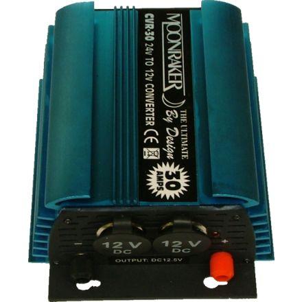 CVR-30 - 24-12V (30 AMP) Double Socket Reducer